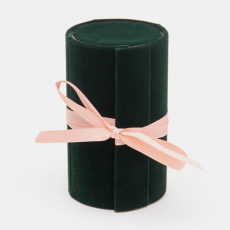Caroline Gardner Dark Green Jewellery Box Roll