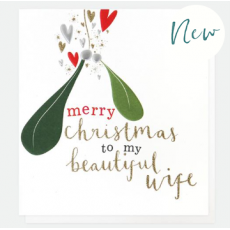 Caroline Gardner Beautiful Wife Christmas Card