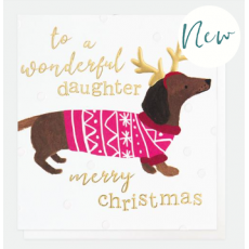 Caroline Gardner Wonderful Daughter Christmas Card