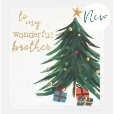 Caroline Gardner Wonderful Brother Christmas Card