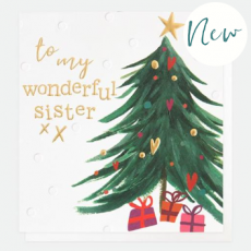 Caroline Gardner Wonderful Sister Christmas Card