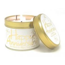 "Lily Flame ""Happy Anniversary"" Scented Tinned Candle"