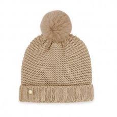 Katie Loxton Chunky Knit Hat - Caramel