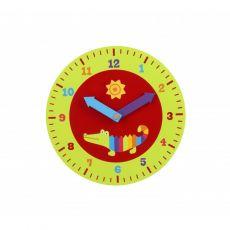 "Orange Tree Toys ""Crocodile"" Teaching Clock"