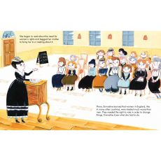Little People Big Dreams -  Emmeline Pankhurst Book