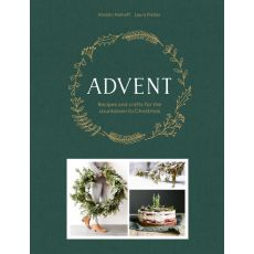Bookspeed 'Advent Recipes & Crafts For The Count Down To Christmas' Book