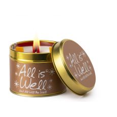 Lily Flame All Is Well Scented Tinned Candle