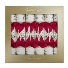 Sophie Allport Partridge In A Pear Tree Christmas Crackers (Set of 6)
