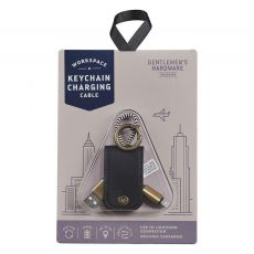 Gentleman's Hardware Keychain Charging Cable