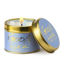Lily Flame Good Luck Scented Tinned Candle