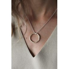 Tutti & Co Two Tone Texture Necklace