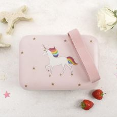 Sophie Allport Childrens Bamboo Lunch Box - Unicorn