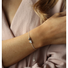 Tutti & Co Silver Connect Bracelet