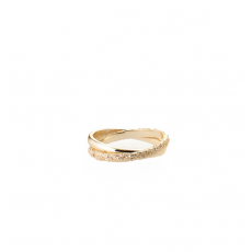 Tutti & Co Gold Ember Ring