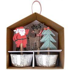 Meri Meri Christmas Cupcake Set