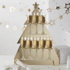 Ginger Ray Christmas Tree Prosecco Wall Drink Stand