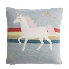 Sophie Allport Childrens Cushion with Pocket - Unicorn