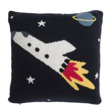 Sophie Allport Childrens Cushion with Pocket - Space