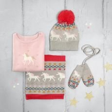 Sophie Allport Knitted Kids Jumper - Unicorn