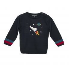 Sophie Allport Knitted Kids Jumper - Space