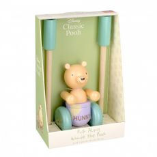 Orange Tree Toys Wooden Classic Pooh Push Along