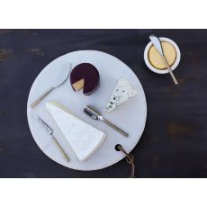 Nkuku - Darsa Cheese Knife Boxed Set - Brushed Gold