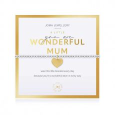 Joma Jewellery A Little Wonderful Mum Bracelet Beautifully Boxed