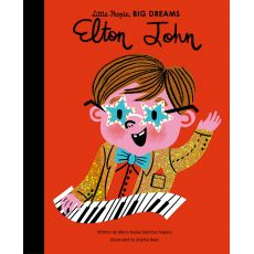 Little People Big Dreams - Elton John Book