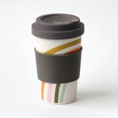 Caroline Gardner Rainbow Bamboo Coffee Cup