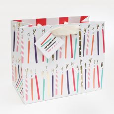 Caroline Gardner Foil Candles Gift Bag - Landscape
