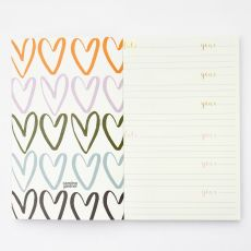 Caroline Gardner Scattered Hearts Reflections Journal