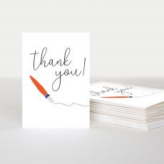 Caroline Gardner 'Thank You' Boxed Notecards