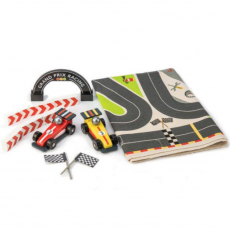 Tender Leaf Toys Formula One Racing Playmat