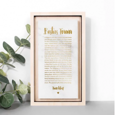 Coulson Macleod Framed Besties Forever Marble Plaque