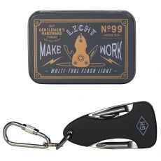 Gentlemen's Hardware Pocket Multi Tool with Flashlight