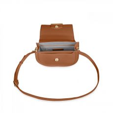 Katie Loxton Alyce Saddle Bag Cognac