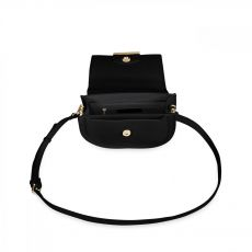 Katie Loxton Alyce Saddle Bag Black