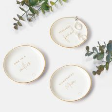 Katie Loxton Fabulous Friend Round Trinket Dish