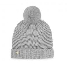 Katie Loxton Chunky Knit Hat - Grey
