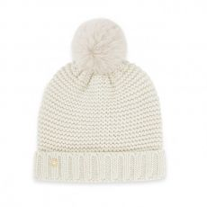 Katie Loxton Chunky Knit Hat - Cream