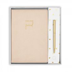 Katie Loxton Fabulous Friend Beautifully Boxed A5 Notebook and Pen Set