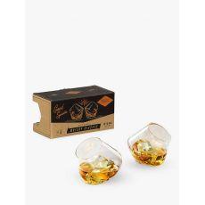 Gentleman's Hardware Rocking Whiskey Glasses, Set of 2