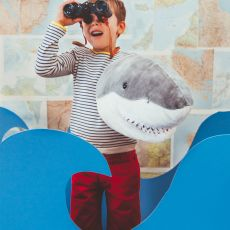 Wild & Soft Plush 'Jack The Shark' Wall Mounted Animal Head