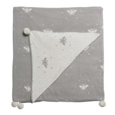 Sophie Allport Bees Knitted Throw