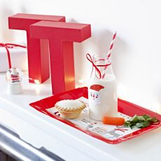 Talking Tables, Waiting for Santa, Treat Platter