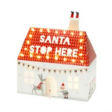 Talking Tables, Santa Stop Here, Light Up House