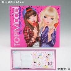 Top Model Friendship Book - Pink