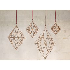 Talini Diamond - Antique Brass - Medium