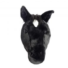 "Wild & Soft Plush ""Peter The Pony"" Wall Mounted Animal Head"