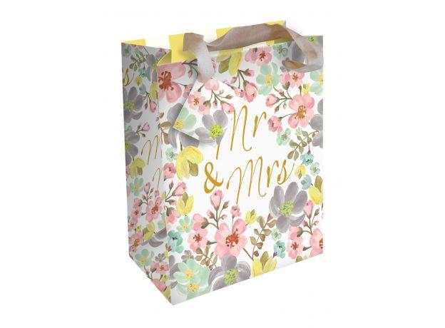 """Caroline Gardner """"Mr and Mrs"""" Gift Bag - Large"""